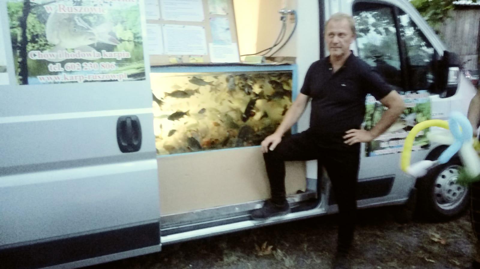 Jagodowe Lato - pokaz ryb naszej hodowli